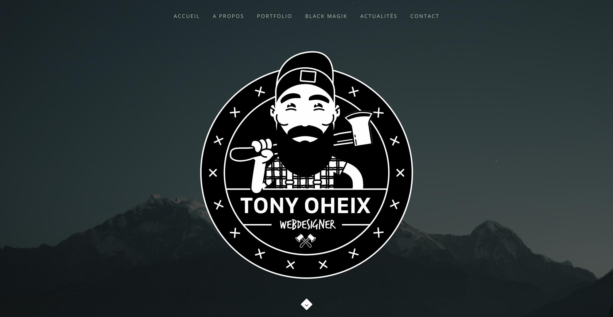 tony oheix : webmaster à caen / webdesigner / création site internet